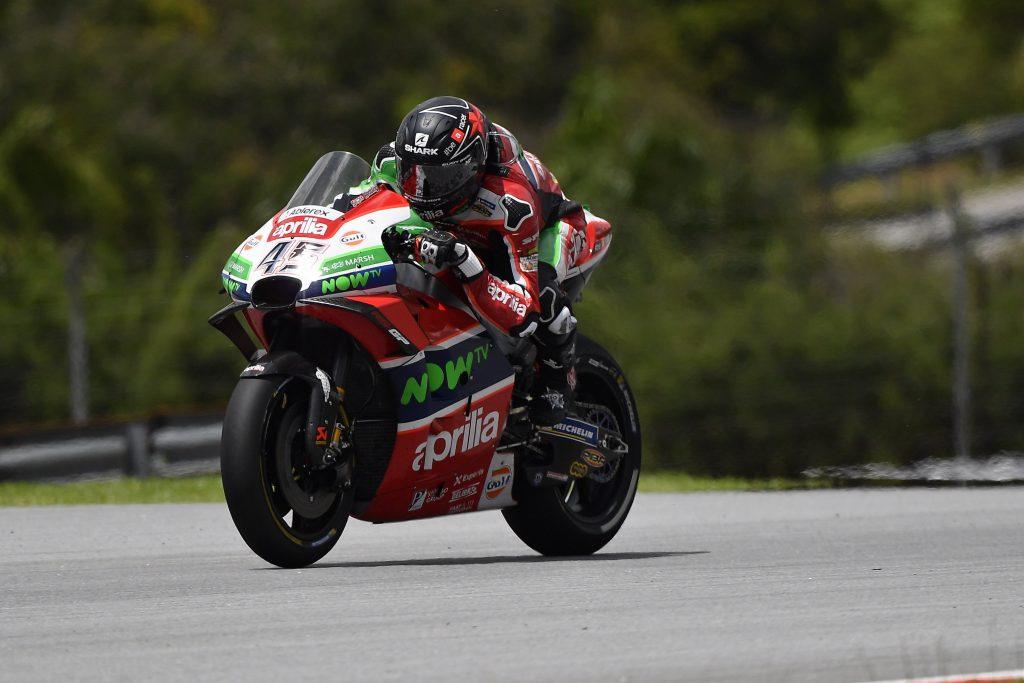 BUONA RIMONTA DI ALEIX ESPARGARO', UNDICESIMO AL TRAGUARDO - Gresini Racing