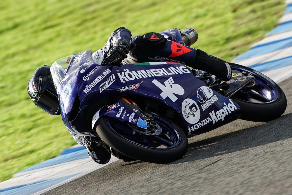 ESORDIO IN PISTA PER IL TEAM KÖMMERLING GRESINI MOTO3 A JEREZ - Gresini Racing