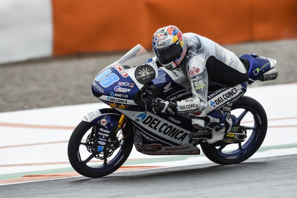 #VALENCIAGP: TOP6 SUL BAGNATO PER I PILOTI DEL CONCA GRESINI   - Gresini Racing
