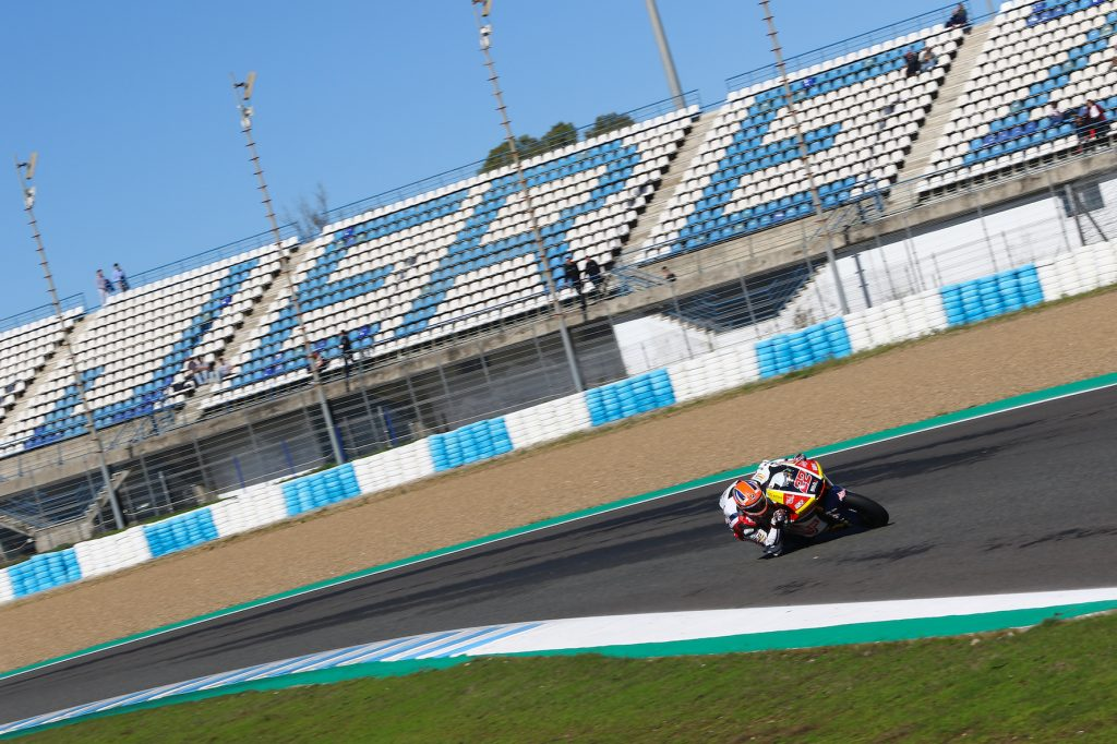 TOP-2 FOR LOWES AT JEREZ MOTO2 DEBUT    - Gresini Racing