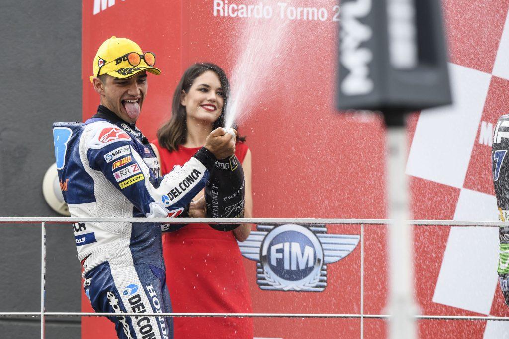 VALENCIA MAGICA: STORICA DOPPIETTA MONDIALE PER IL TEAM DEL CONCA GRESINI - Gresini Racing