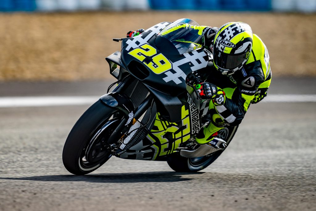 APRILIA CONCLUDES THE MOTOGP TESTS AT JEREZ DE LA FRONTERA - Gresini Racing