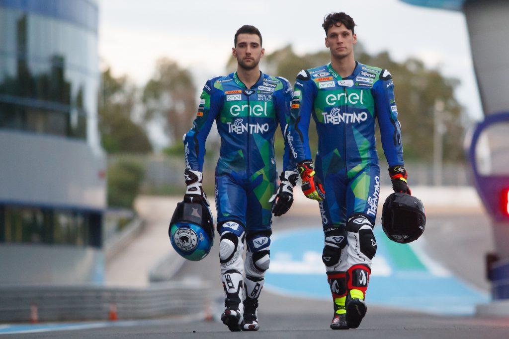 THE TRENTINO GRESINI TEAM FINALLY IN ACTION - Gresini Racing