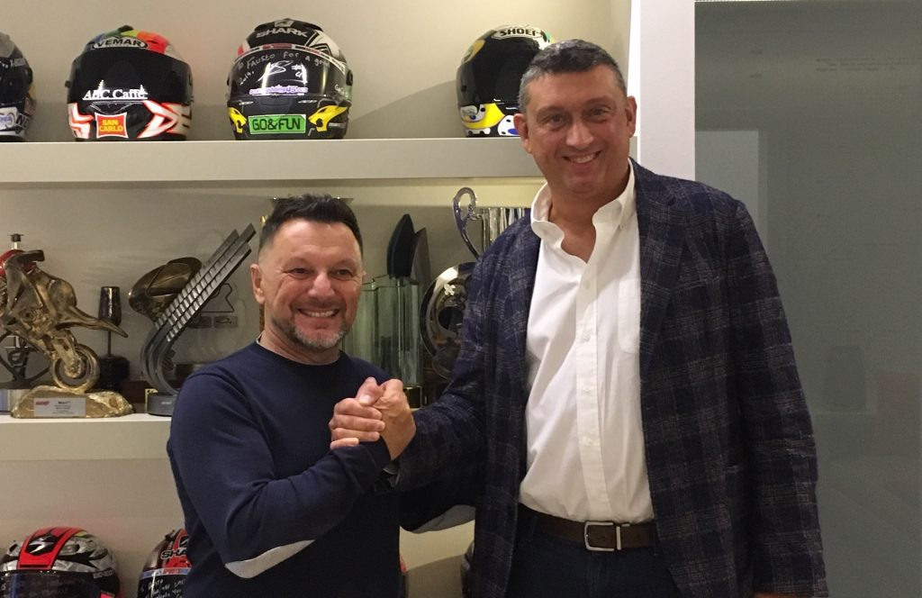 HTSTONE CHOOSES GRESINI RACING FOR 2019   - Gresini Racing