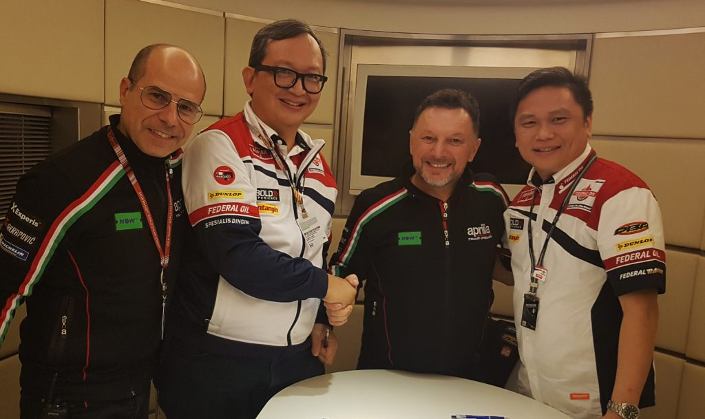 ASPIRA E GS ASTRA STAY ON BOARD IN 2019 WITH SAM LOWES - Gresini Racing