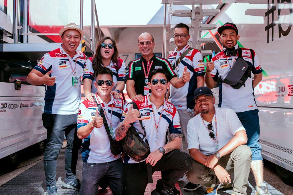 BOLD XPERIENCE, FIDUCIA RINNOVATA NEL PROGETTO MOTO2   - Gresini Racing