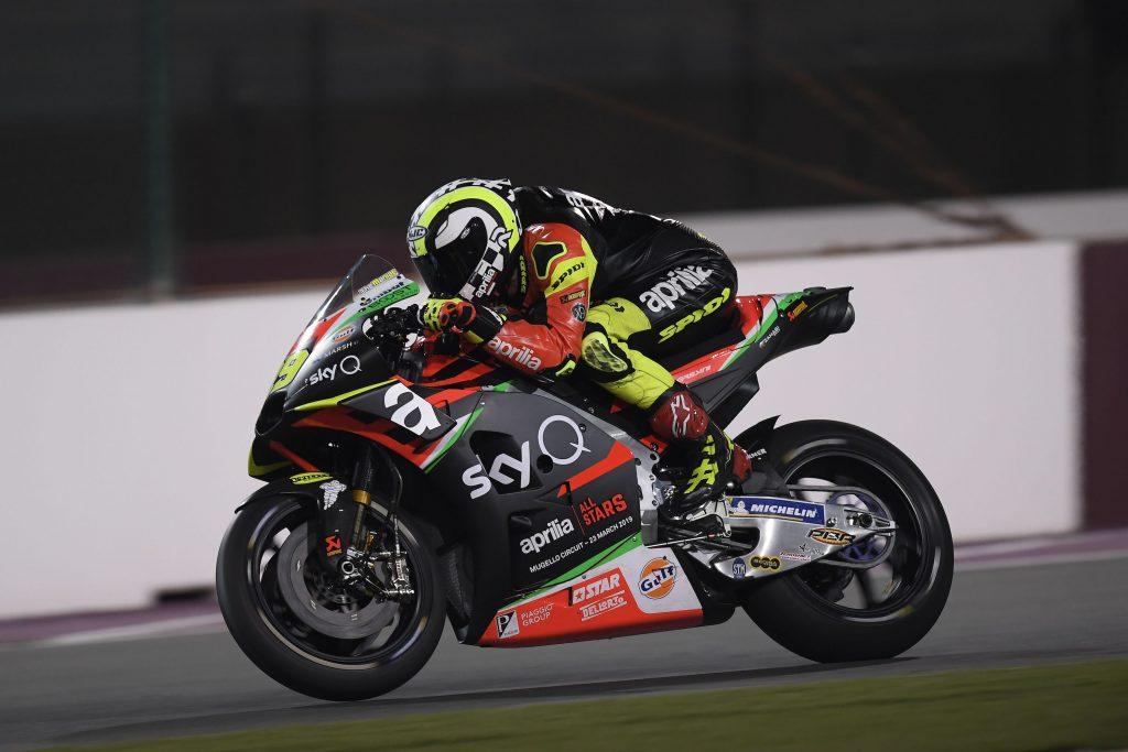 PRIMA GIORNATA DI TEST PER LA APRILIA RS-GP NELLA NUOVA LIVREA 2019 - Gresini Racing