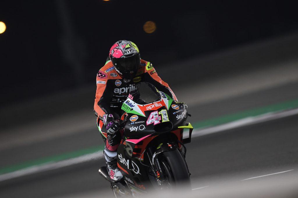 MOTOGP – CRESCONO LE APRILIA NELLE PROVE IN QATAR - Gresini Racing
