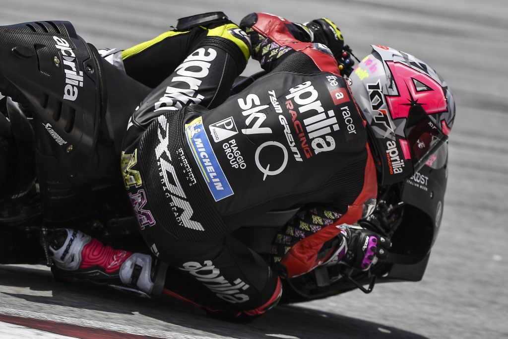 THE FIRST TESTS OF 2019 END ON A POSITIVE NOTE FOR APRILIA - Gresini Racing