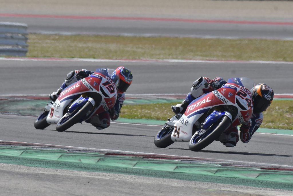 MISANO RACE2: MOROSI E TACCINI VICINI AL PODIO, GRESINI ANCORA A PUNTI - Gresini Racing