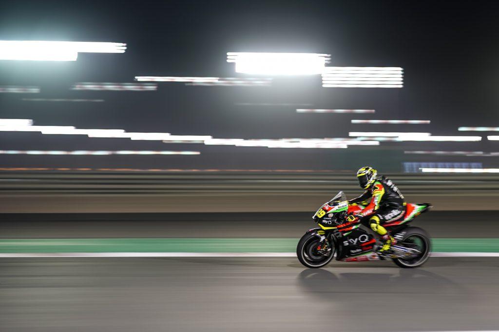 READY, SET, GO AND ALEIX SHINES STRAIGHT AWAY IN THE QATAR NIGHT - Gresini Racing