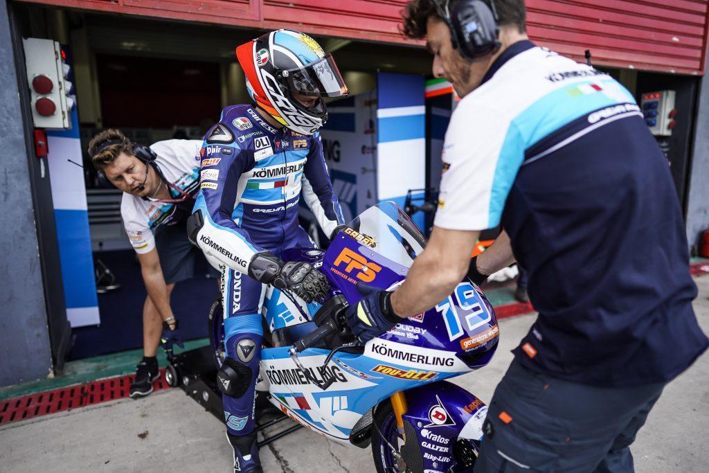 QUALIFICHE IN SALITA PER RODRIGO A TERMAS, ROSSI CHIUDE 26º - Gresini Racing