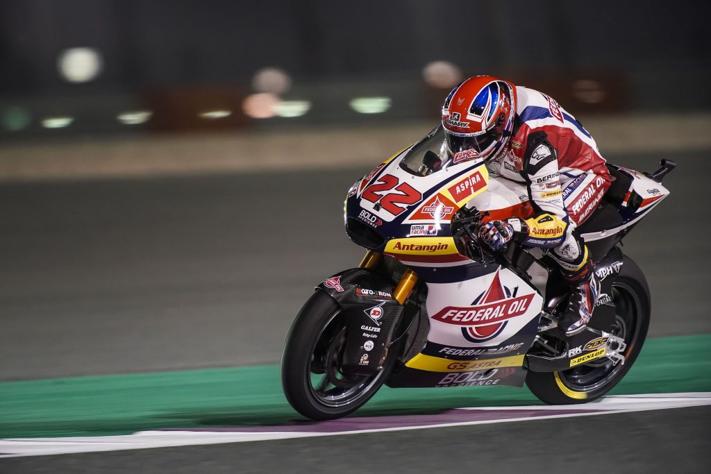 LOWES CHARGED UP AFTER QUALIFYING ON ROW TWO AT LOSAIL - Gresini Racing