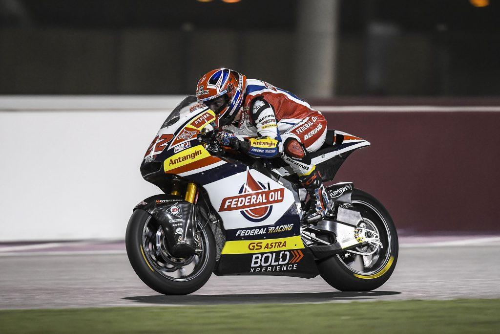 LOWES SCALDA I MOTORI PER LA PRIMA STAGIONALE IN QATAR - Gresini Racing