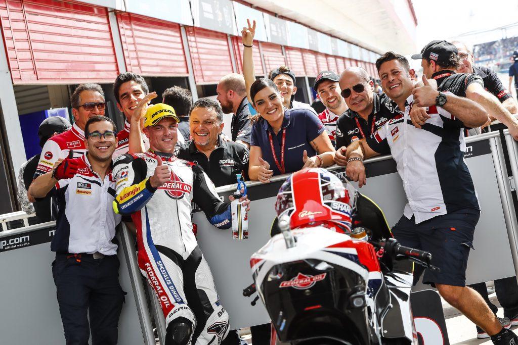 LOWES CONQUISTA LA PRIMA FILA A TERMAS DE RIO HONDO   - Gresini Racing
