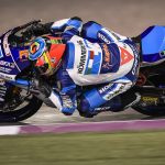 QATARGP: FOURTH ROW FOR RODRIGO AS ROSSI CRASHES OUT