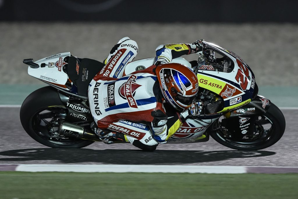 LOWES NEAR THE TOP ON DAY ONE IN QATAR - Gresini Racing