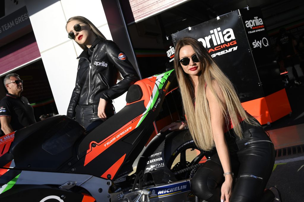 ZOCCARATO INDUSTRIAL PAINTING NUOVO SPONSOR TECNICO DELL'APRILIA RACING TEAM GRESINI   - Gresini Racing