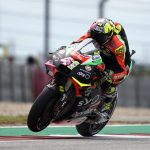 TWO APRILIAS ON THE SIXTH ROW AT THE GP OF THE AMERICAS