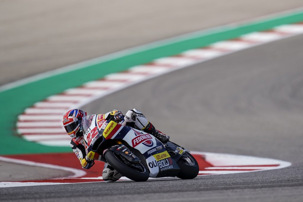 #AMERICASGP: FRIDAY TOP-5 FOR LOWES AT AUSTIN - Gresini Racing