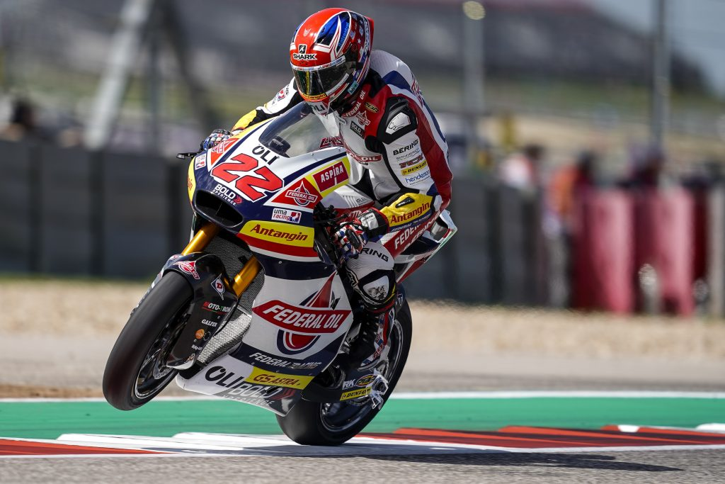 SAM LOWES ALSO ON FRONT ROW IN TEXAS - Gresini Racing