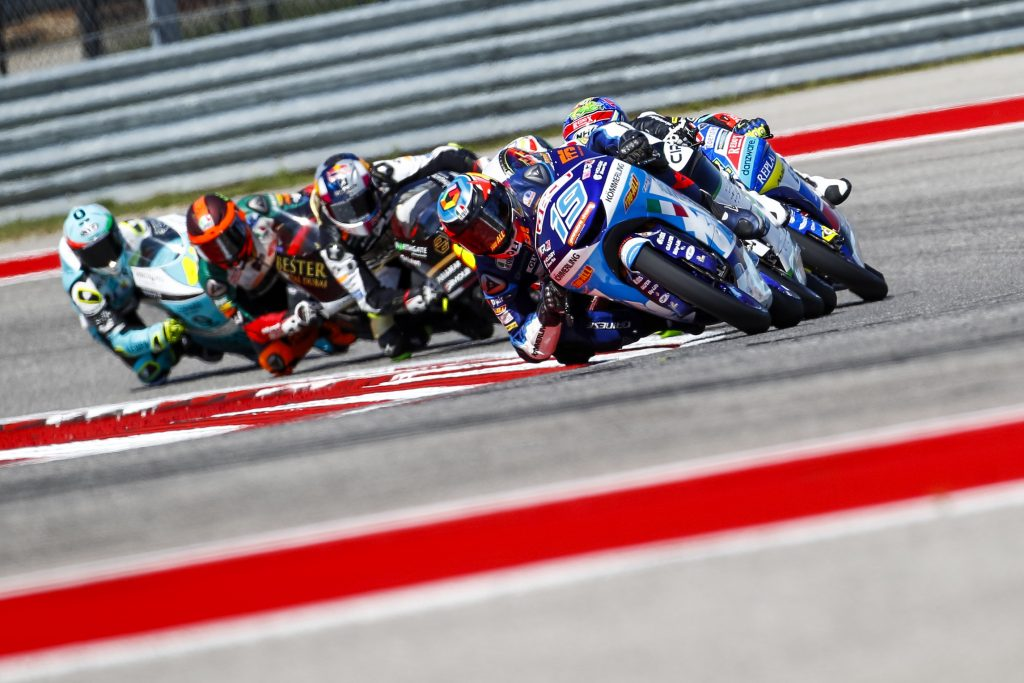 GABRIEL RODRIGO INCHES AWAY FROM PODIUM FINISH IN TEXAS - Gresini Racing