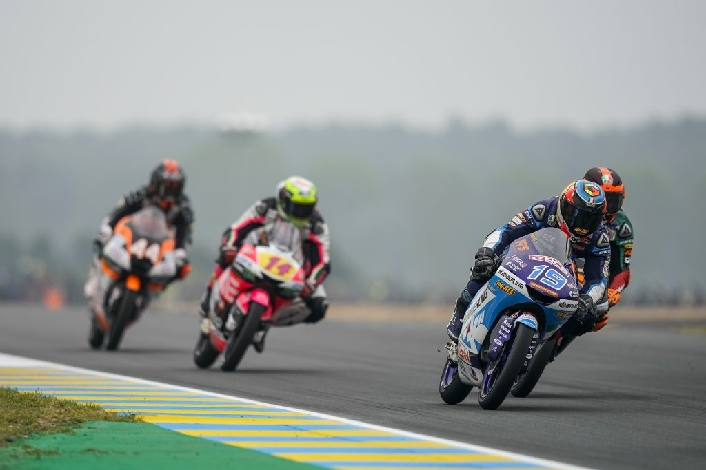 RODRIGO MISSES OUT ON FRENCH PODIUM AS ROSSI IS OUT AFTER FEW LAPS     - Gresini Racing