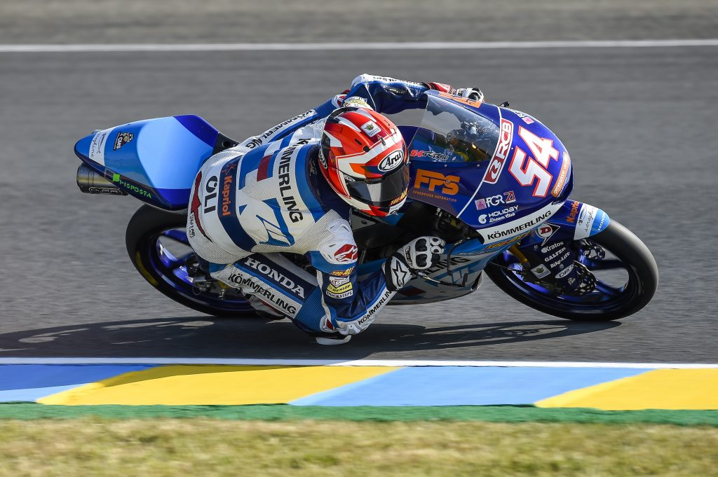 RODRIGO SETTLES FOR TOP 10 IN LE MANS FREE PRACTICE       - Gresini Racing