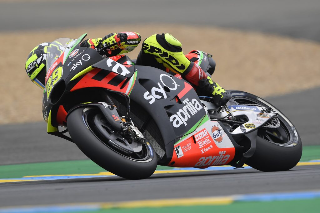 ALEIX AND APRILIA IN THE POINTS AGAIN AT THE LE MANS GP - Gresini Racing