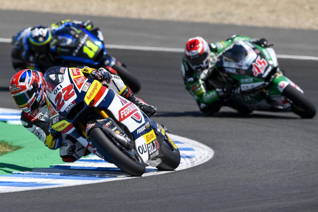 A SUNDAY TO FORGET FOR LOWES IN THE #SPANISHGP      - Gresini Racing