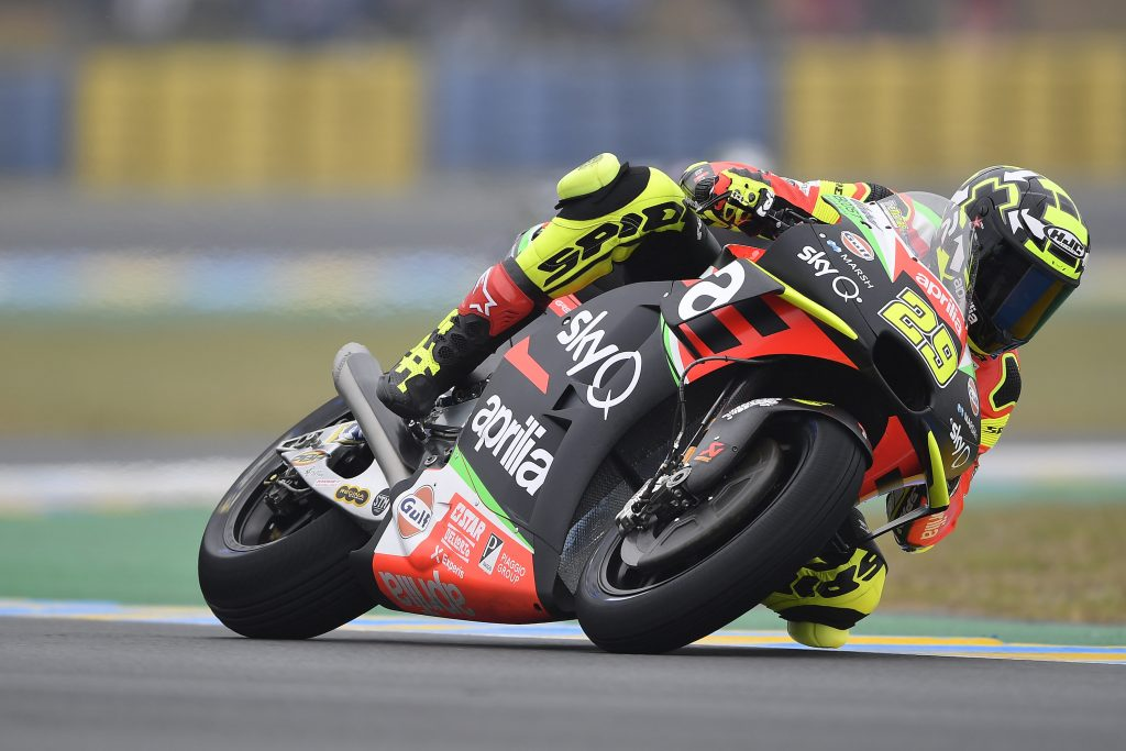 NICE QUALIFIERS FOR ALEIX WHO TAKES A SPOT ON THE THIRD ROW OF THE STARTING GRID TOMORROW AT LE MANS - Gresini Racing