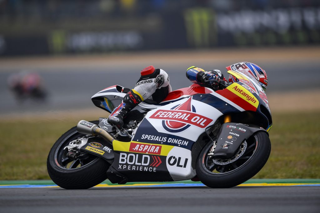 LOWES'S COMEBACK ENDS PREMATURELY AT LE MANS    - Gresini Racing