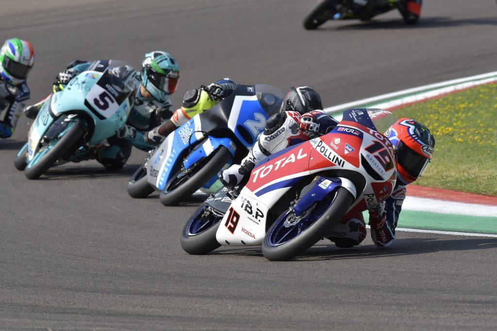 IMOLA GARA1: TOP5 PER MOROSI, GRESINI A PUNTI - Gresini Racing