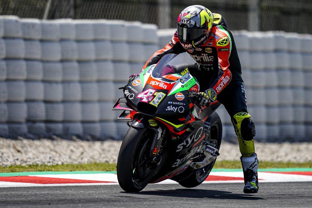 QUALIFICA DIFFICILE MABUON PASSO PER LE APRILIA SUL TORRIDO ASFALTO CATALANO - Gresini Racing