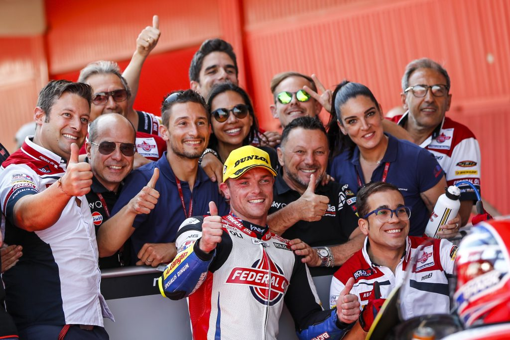LOWES TORNA IN PRIMA FILA A BARCELLONA    - Gresini Racing