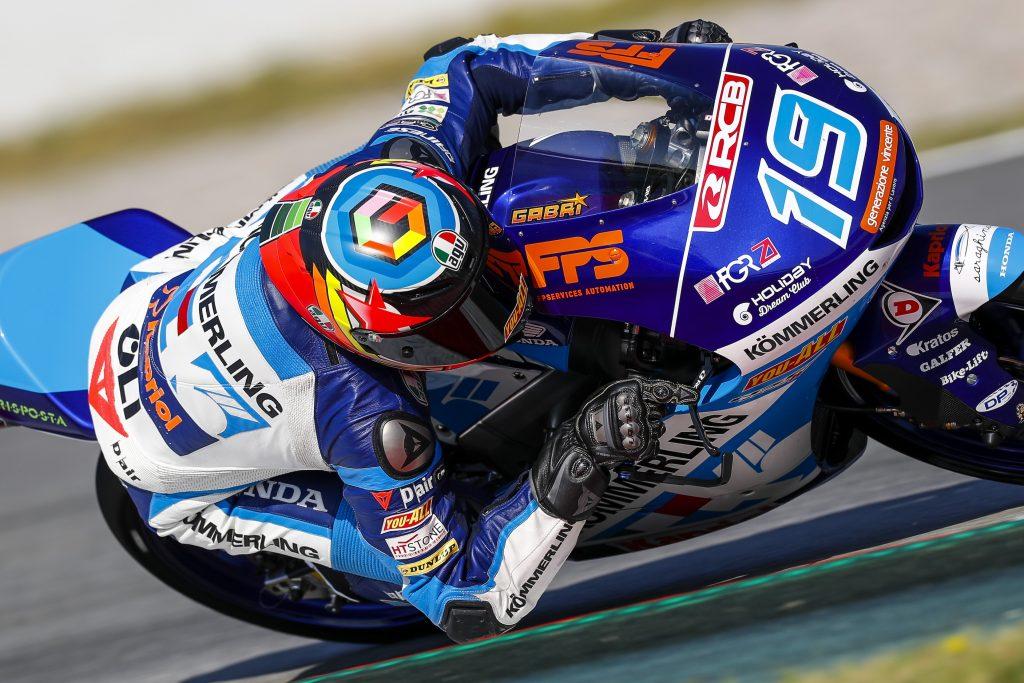 RODRIGO ALZA LA VOCE IN CASA: PRIMA POLE CON GRESINI - Gresini Racing