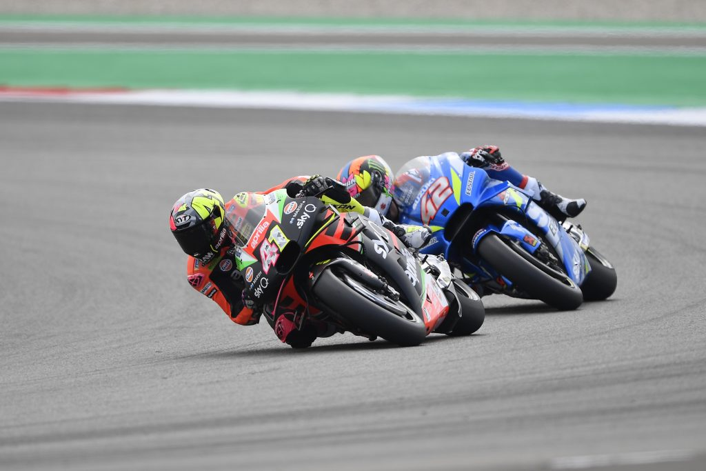 ANDREA IANNONE FAST AND SIXTH AFTER THE FIRST DAY OF PRACTICE - Gresini Racing