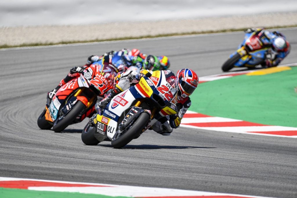 LOWES WITHIN TOP-TEN AFTER FRONT ROW START IN CATALUNYA    - Gresini Racing