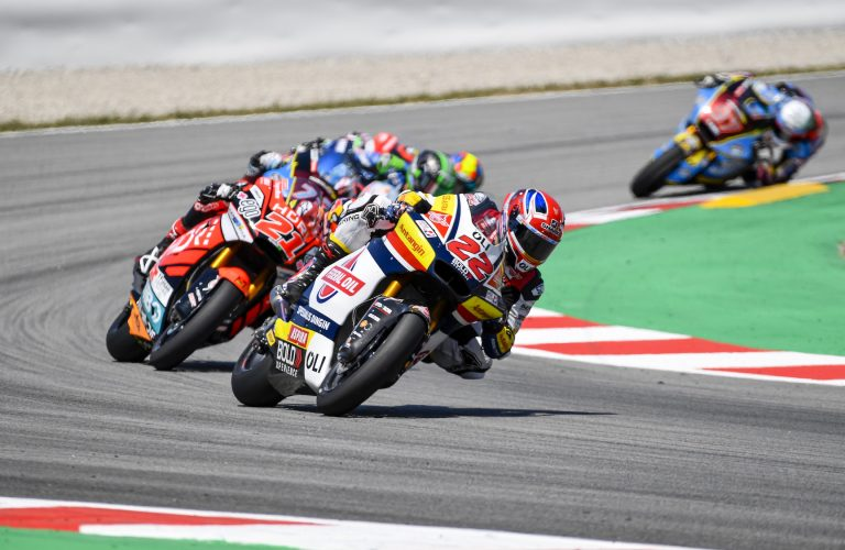 LOWES WITHIN TOP-TEN AFTER FRONT ROW START IN CATALUNYA