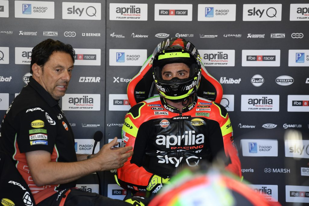 QUINTA FILA PER ALEIX E SETTIMA PER ANDREA NEL GP DI OLANDA - Gresini Racing