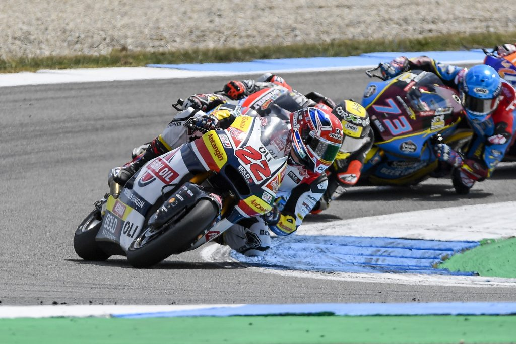 LOWES: AN ALMOST PERFECT WEEKEND    - Gresini Racing