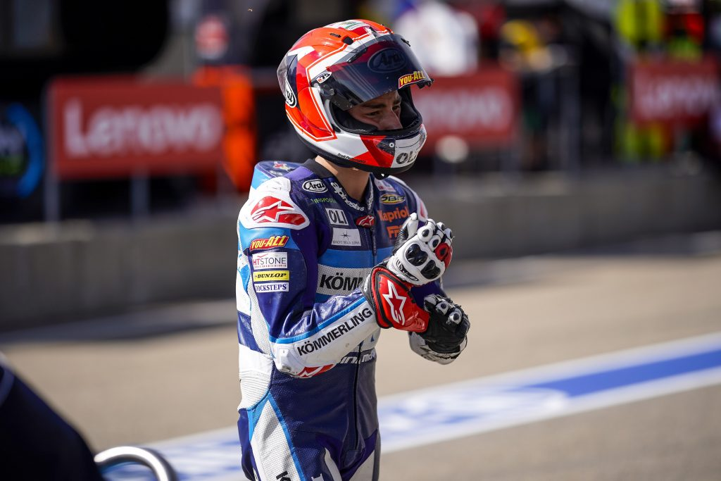 TERZA FILA PER RODRIGO IN GERMANIA    - Gresini Racing