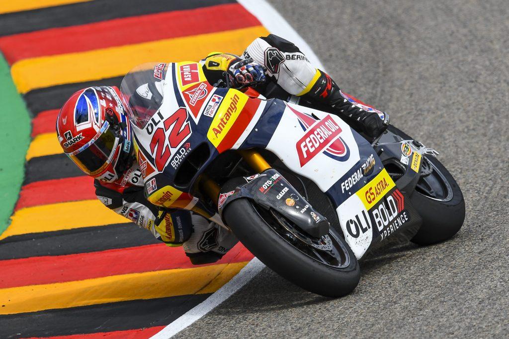 VENERDÌ AL #GERMANGP: LOWES A SETTE DECIMI DALLA VETTA - Gresini Racing