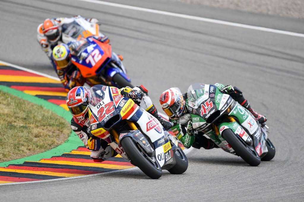 LOWES VICINO ALLA TOP10 NEL #GERMANGP - Gresini Racing