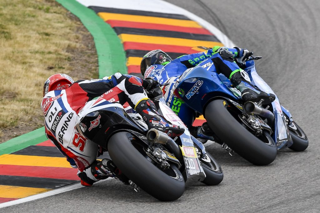 LOWES JUST OUTSIDE THE TOP-TEN IN #GERMANGP RACE - Gresini Racing