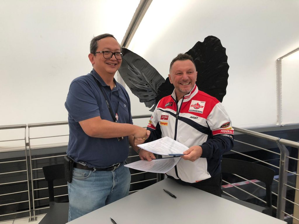 ASTRA OTOPARTS AND GRESINI TO CONTINUE TOGETHER IN 2020 - Gresini Racing