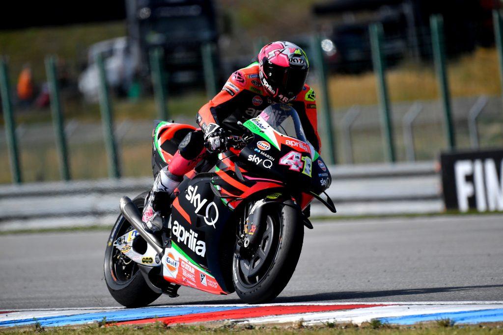 IANNONE 17ESIMO PRECEDE ESPARGARO', 18ESIMO, NEL GP DI BRNO - Gresini Racing