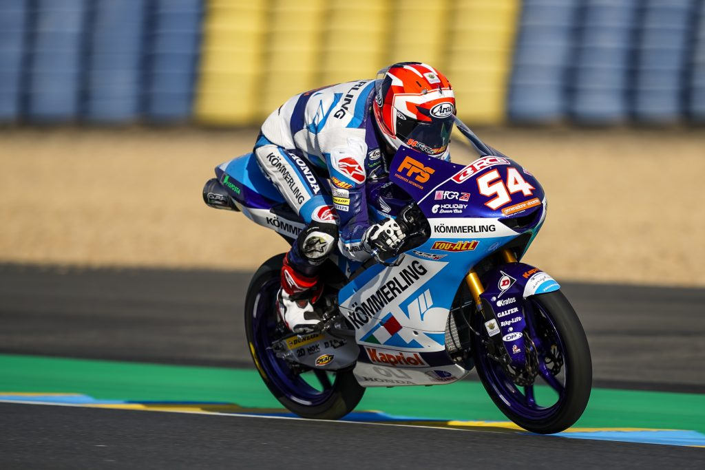YOU ALL A BORDO DEL PROGETTO MOTO3 PER ALTRE DUE STAGIONI    - Gresini Racing