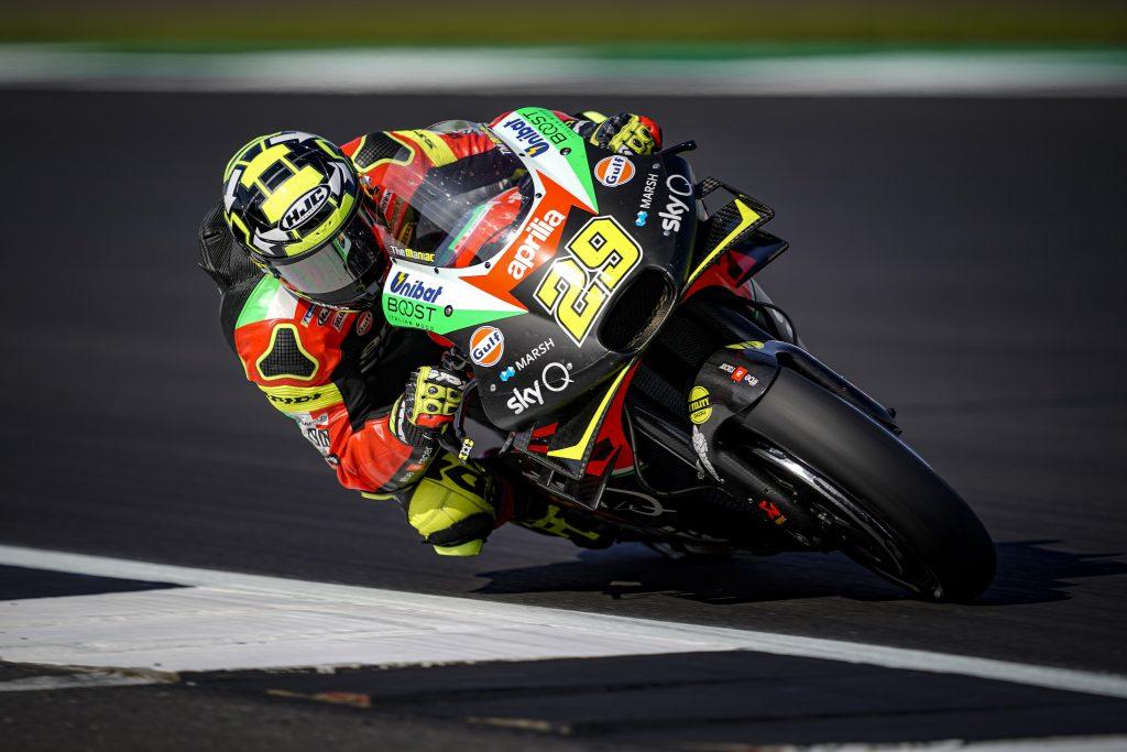 IANNONE LOTTA, RECUPERA E CHIUDE IN DECIMA PIAZZA - Gresini Racing