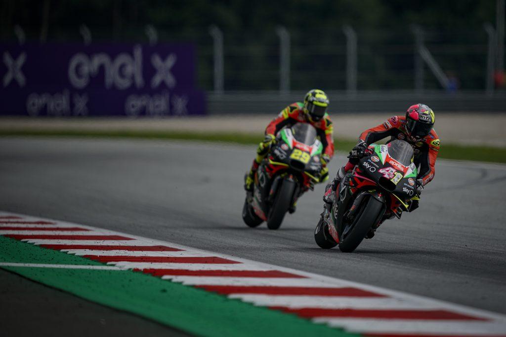 ESPARGARÓ IN THE POINTS IN THE AUSTRIAN GP - Gresini Racing